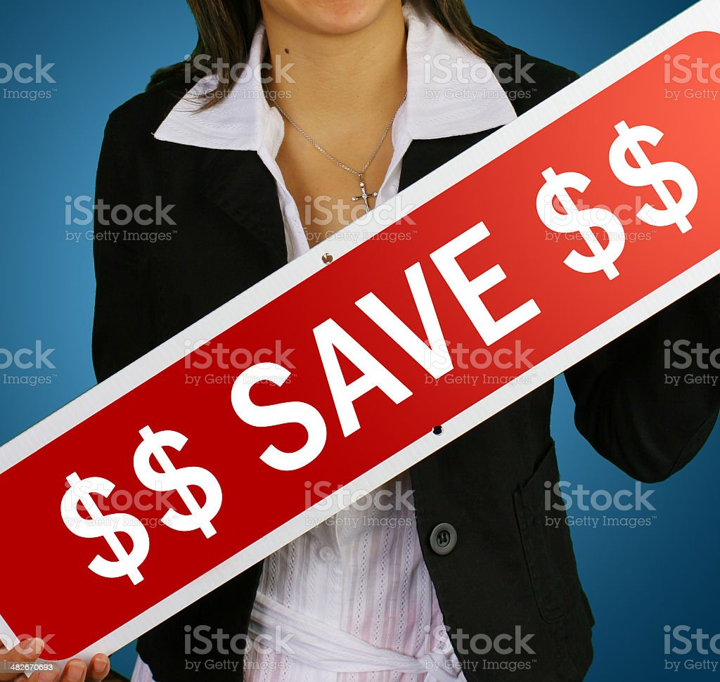 'save' real estate sign royalty-free stock photo
