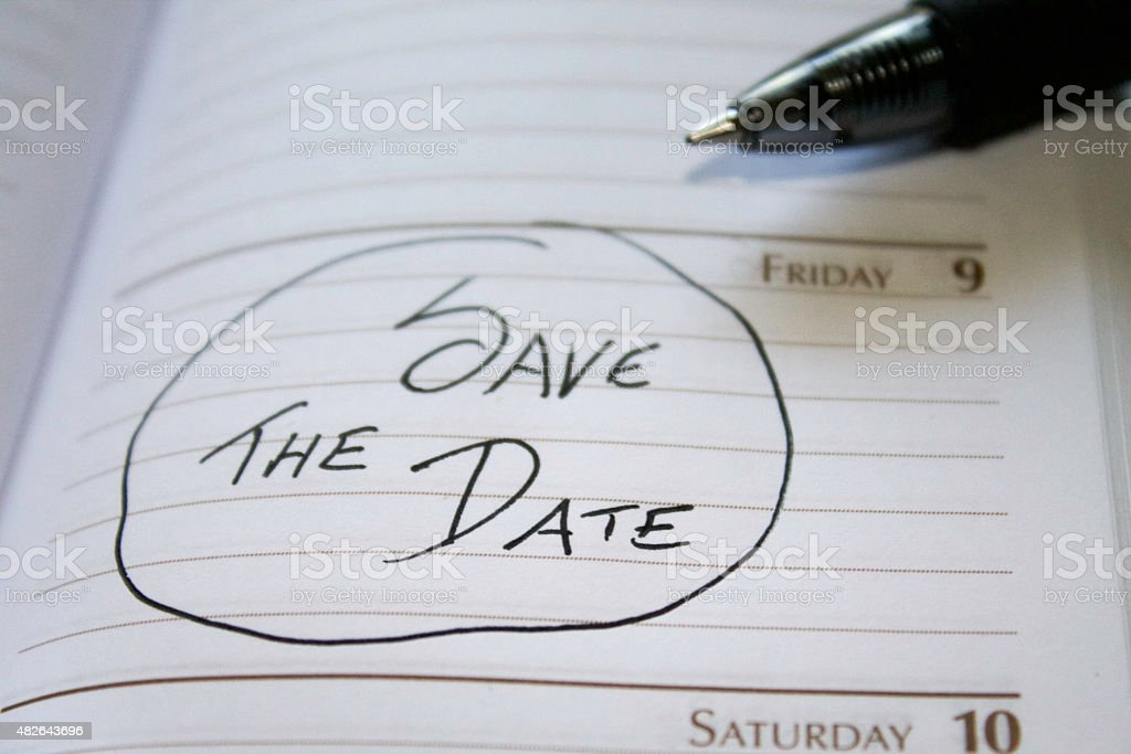 save the date calendar reminder stock photo more pictures of 2015