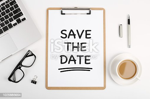istock Save The Date Concept 1025885654