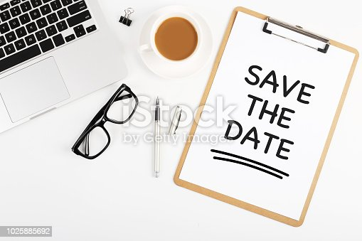 istock Save The Date Concept 1025885692