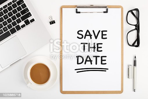 istock Save The Date Concept 1025885718