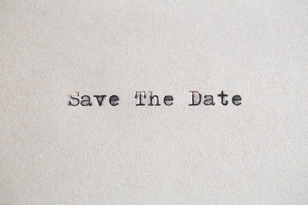 save the date - calendar date stock photos and pictures