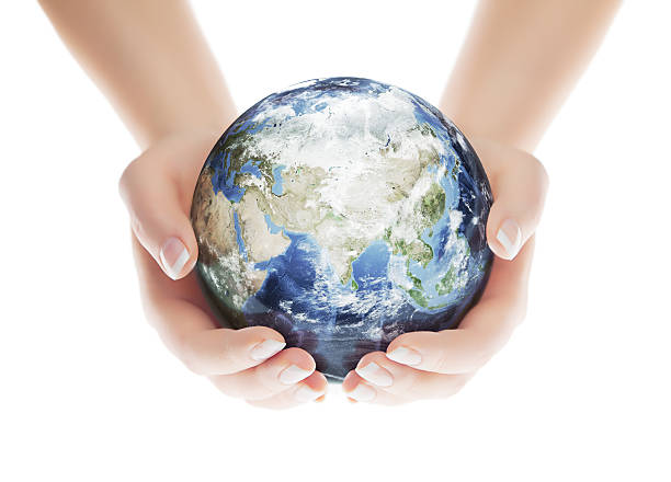 Speichern Sie die Planeten-Eastern Hemisphere – Foto