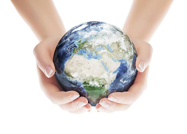 Speichern Sie die Planeten-europäischen Eastern Hemisphere – Foto