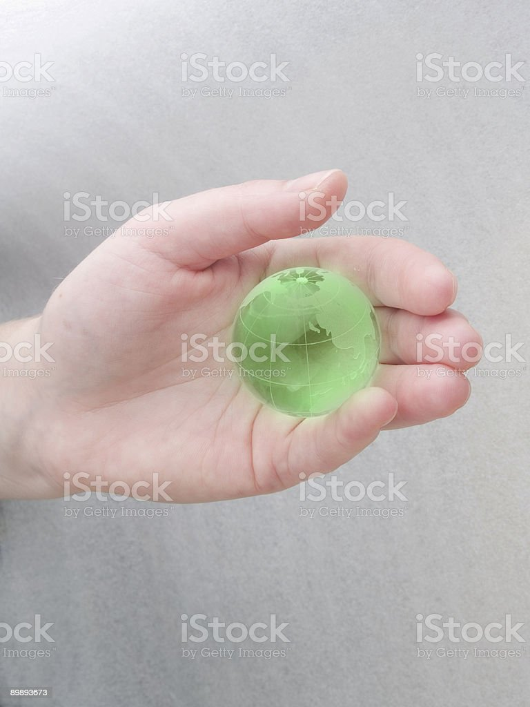 Save the planet! royalty-free stock photo
