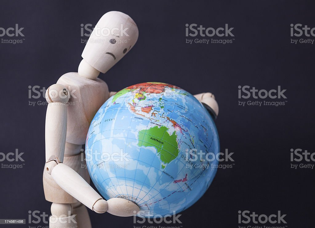 Save the world royalty-free stock photo