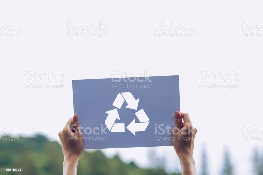 save world ecology concept environmental conservation with hands...