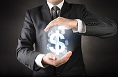 istock Save your dollar concept 655288212