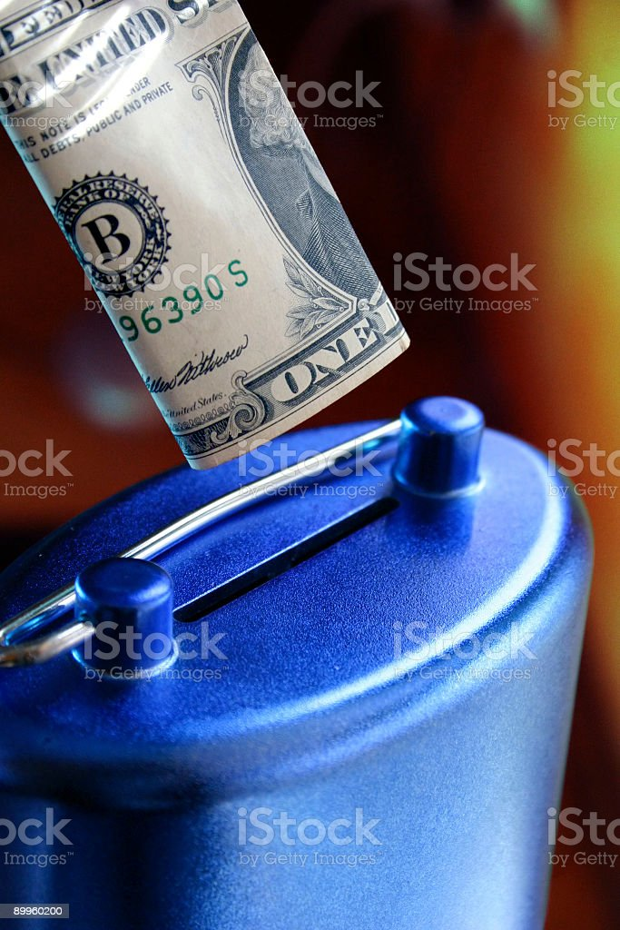 Save your money 1 royalty-free stock photo