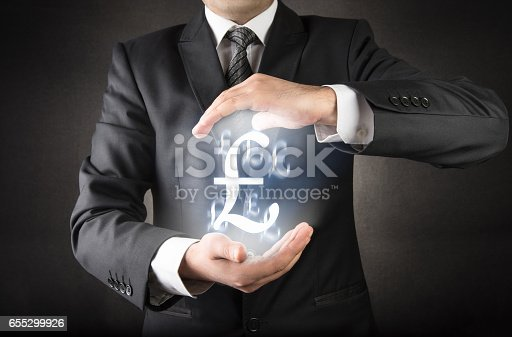 istock Save your Sterling concept 655299926