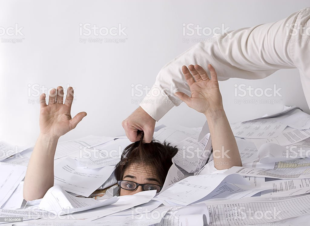 saved from sinking royalty-free stock photo