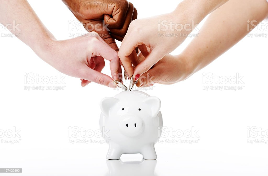 Savers royalty-free stock photo