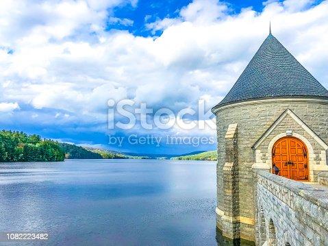 Saville Dam Lake and Tower View