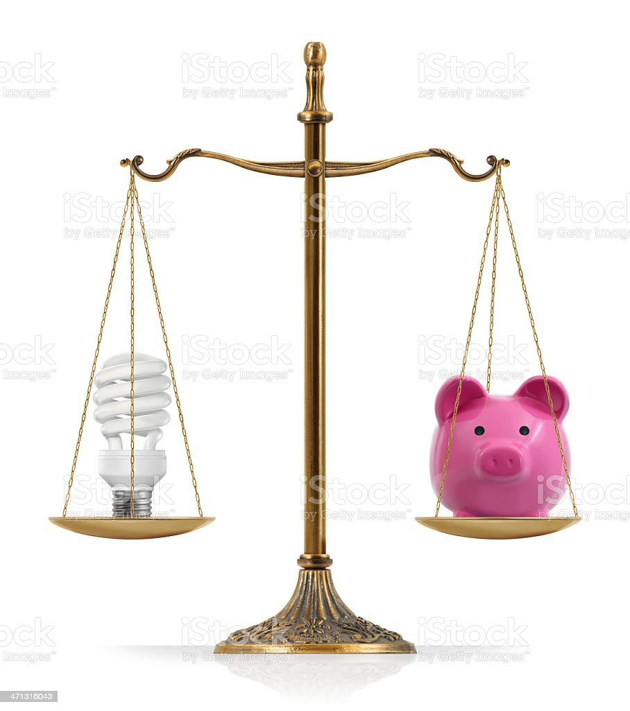 Saving Energy royalty-free stock photo