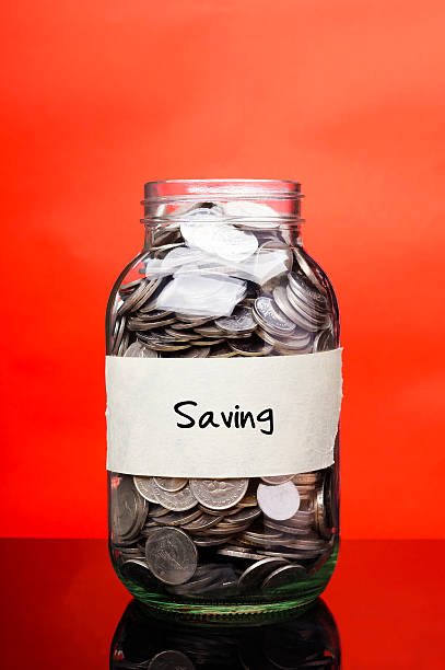 Saving - Financial Concept stock photo