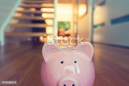 istock Saving for a home concept. 519192414