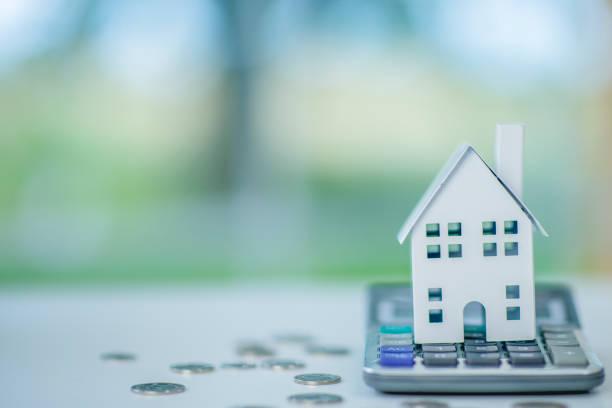 Sparen für ein Haus – Foto