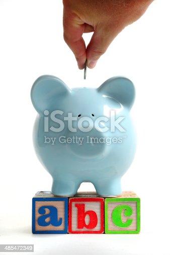 istock Saving for education 485472349