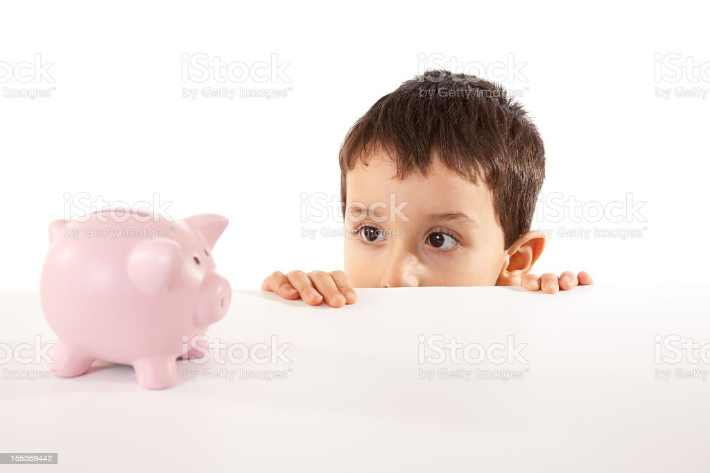 Saving For Later Life stock photo