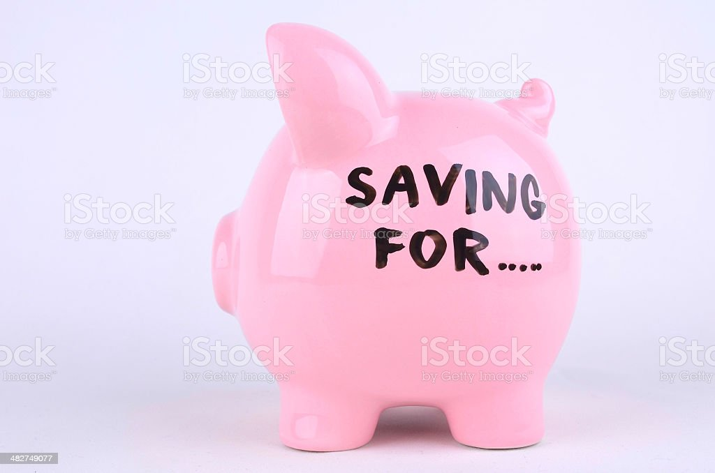 Saving For...? royalty-free stock photo