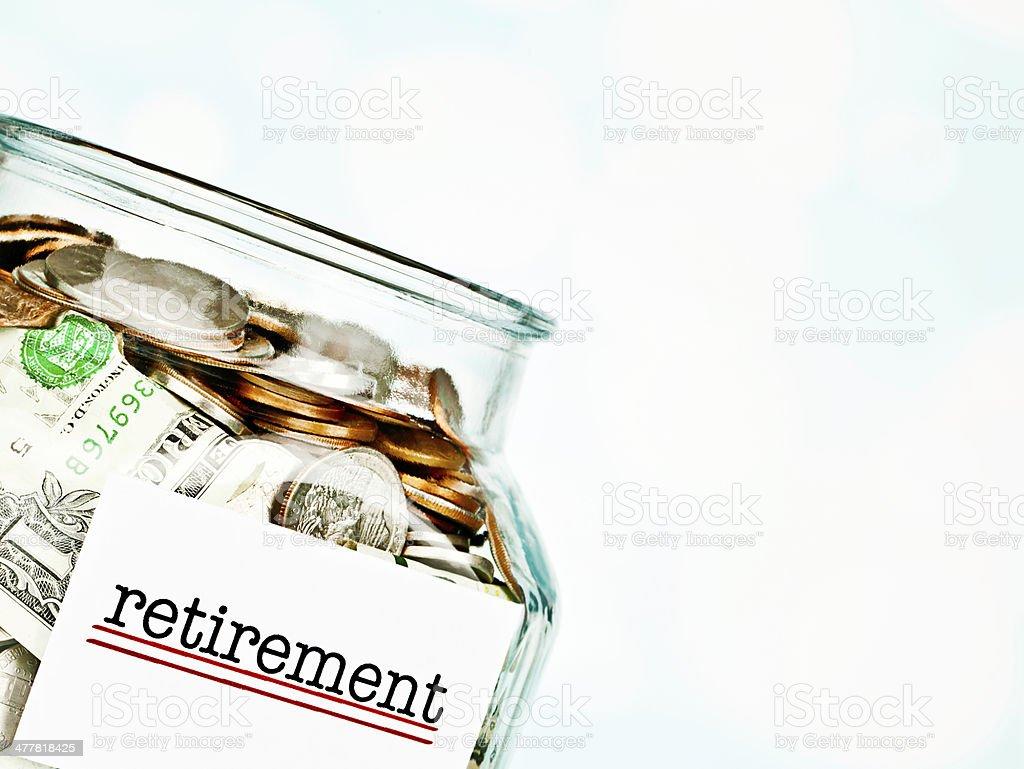 Saving for Retirement royalty-free stock photo