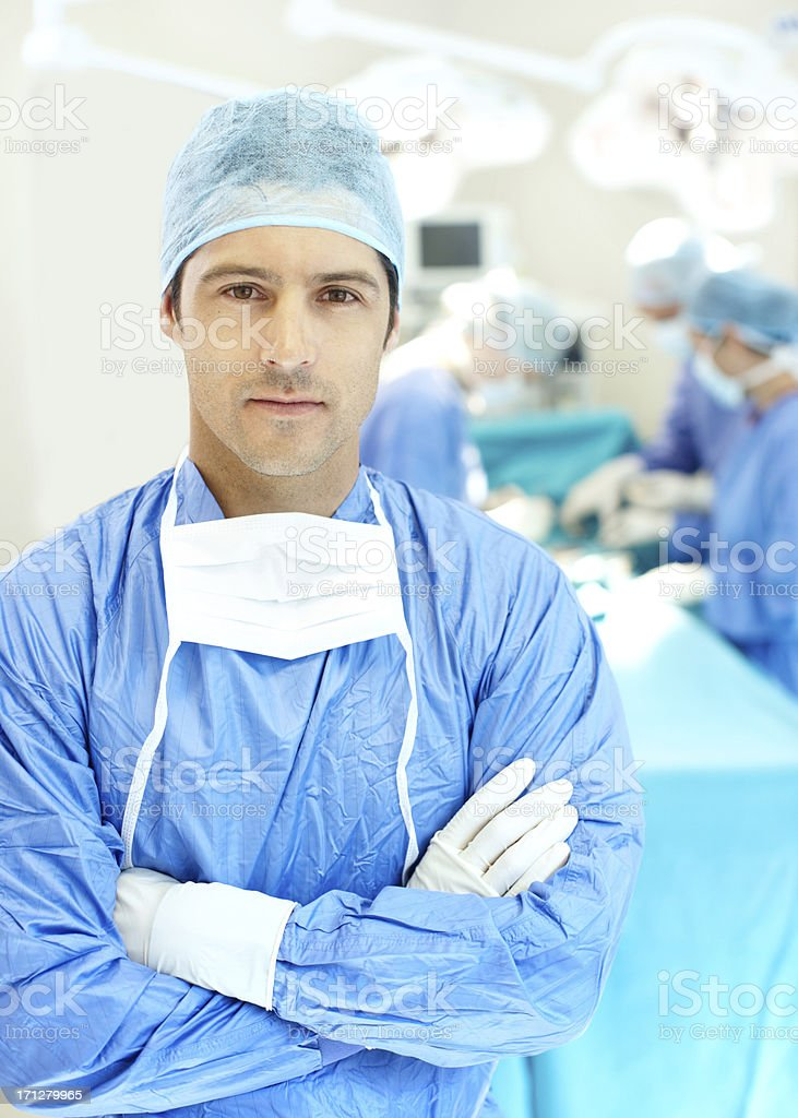 Saving lives one day at a time stock photo
