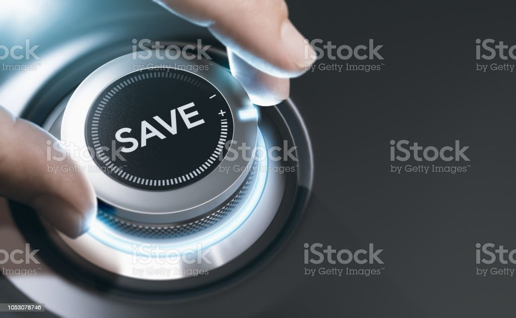 Saving Money Concept, Financial Expert Background stock photo