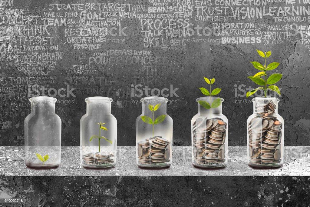 Geld sparen-Konzept  – Foto