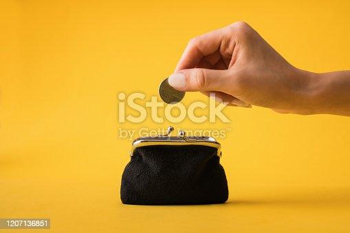 istock Saving Money 1207136851