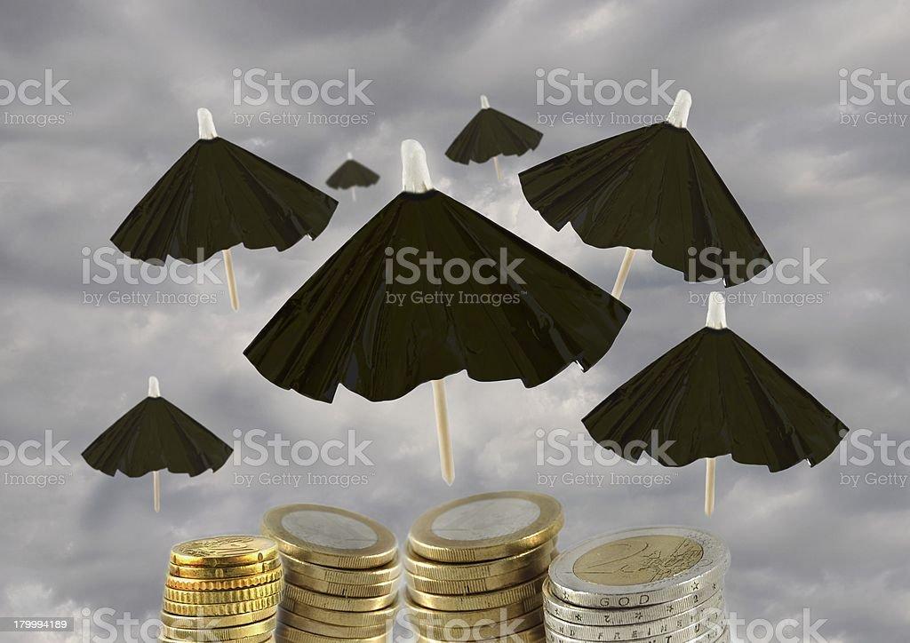 saving the euro stock photo