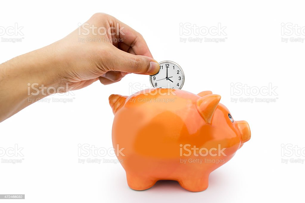 saving the time stock photo
