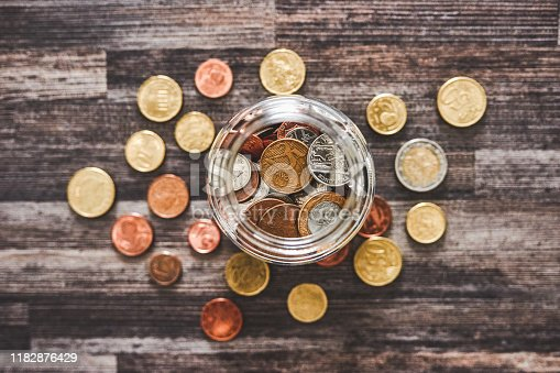 istock Saving up for a rainy day 1182876429
