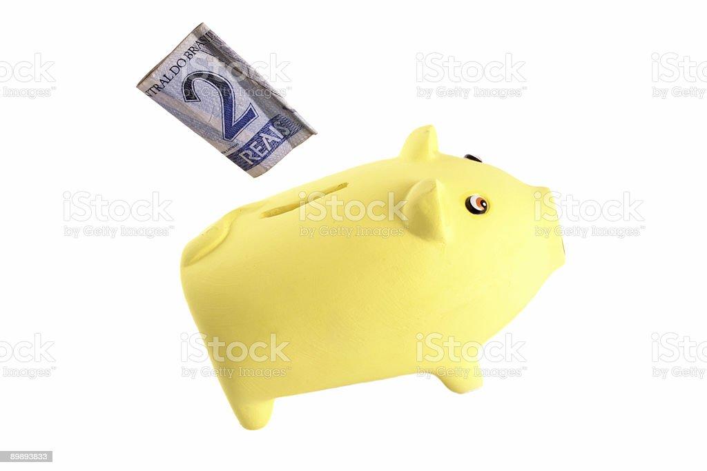 Savings - 2 reais royalty-free stock photo