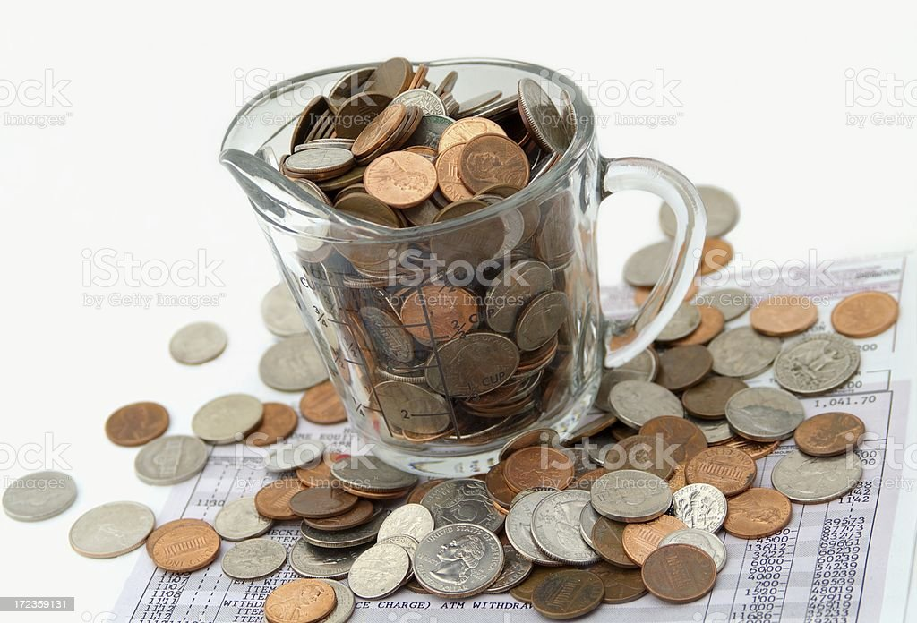 Savings Account royalty-free stock photo