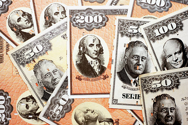 EE. UU. Ahorros Bond fondo - foto de stock
