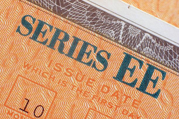 EE. UU. Ahorros Bond en primer plano-EE - foto de stock
