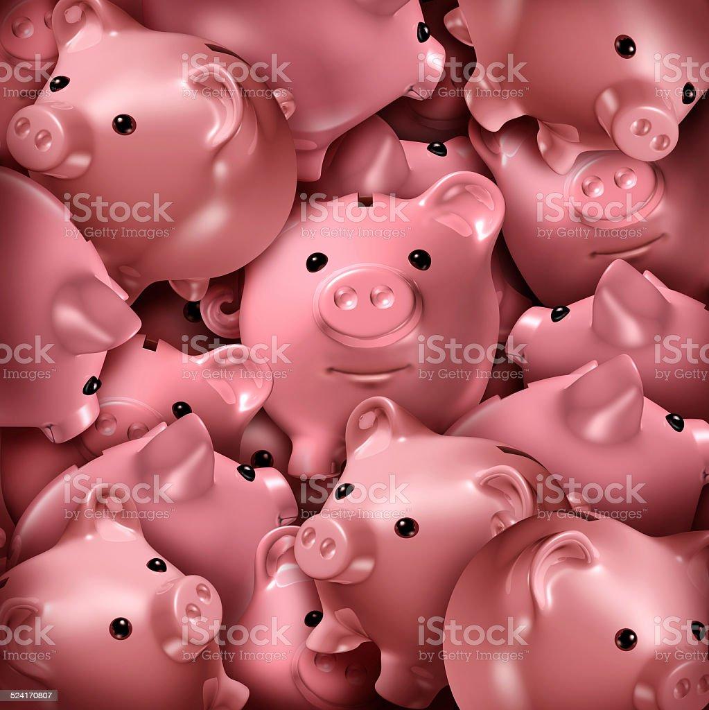 Savings Choice stock photo