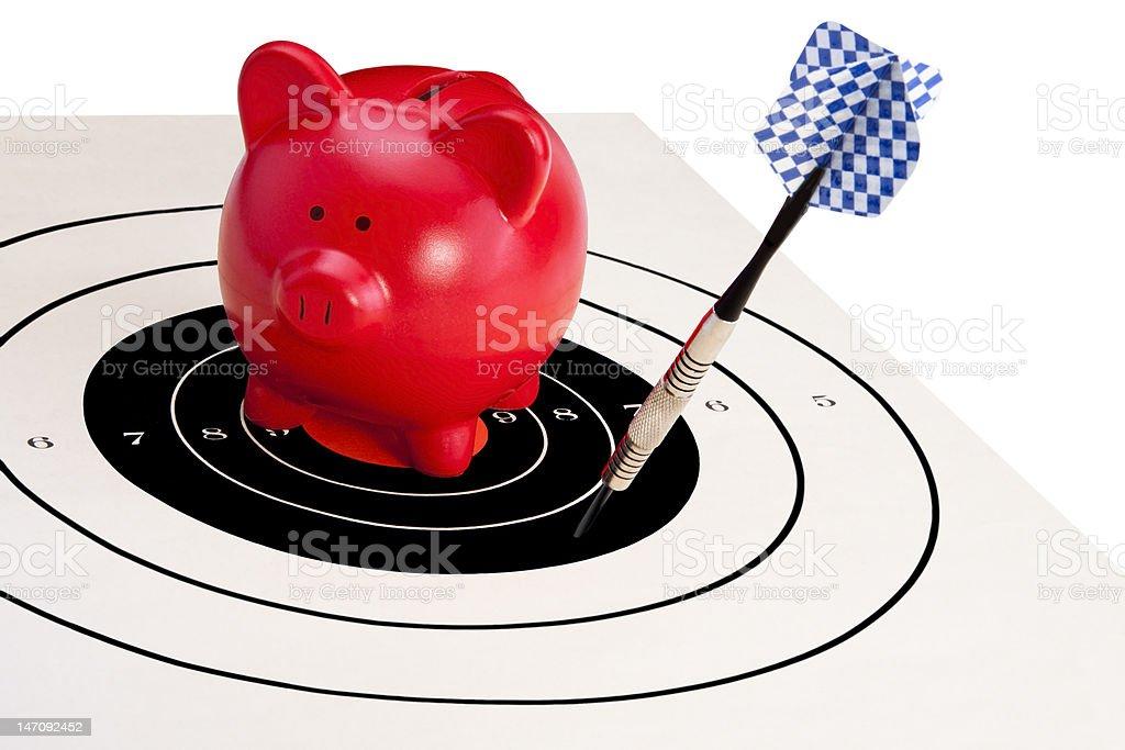 Savings Failure stock photo