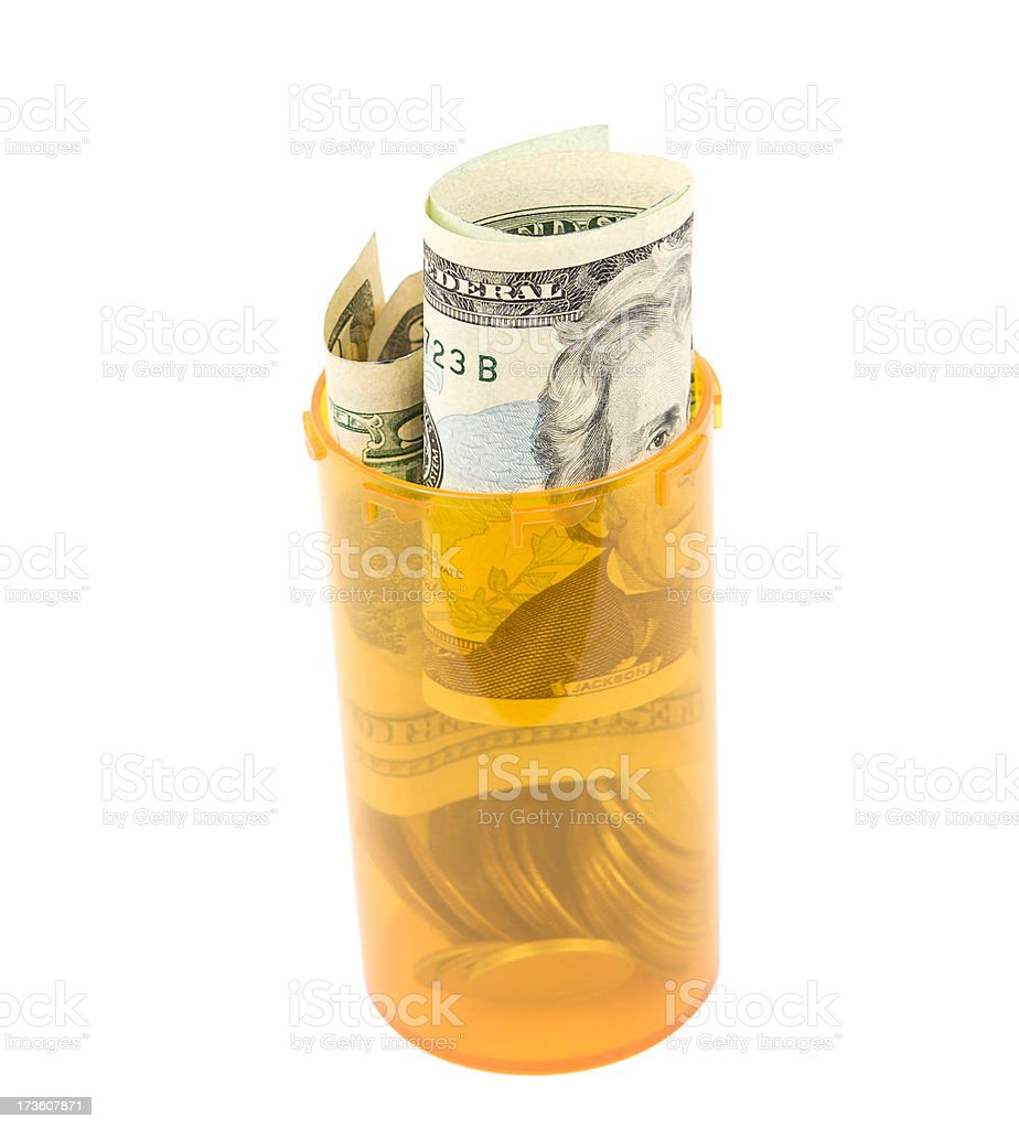 Savings for Healthcare royalty-free stock photo
