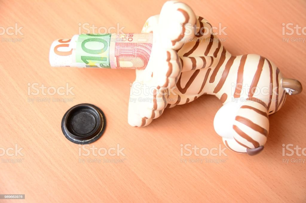 Savings for special events stock photo