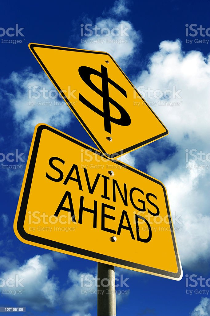 Savings in your Future royalty-free stock photo
