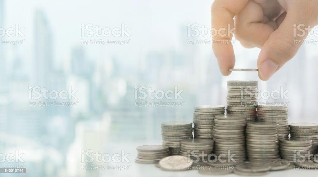 savings investment stock photo