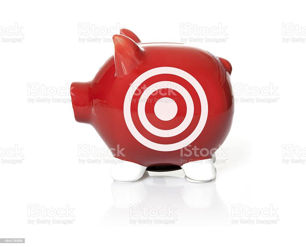 savings on target royalty-free stock photo