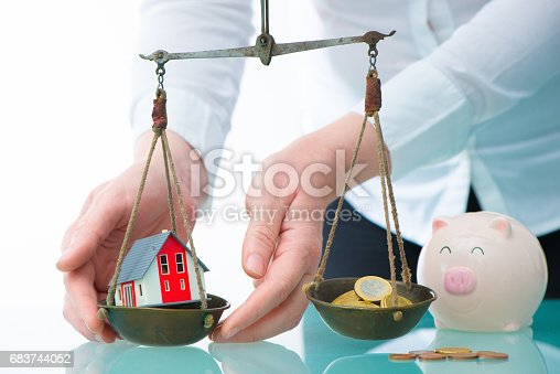 istock Savings or real estate investment concept 683744052