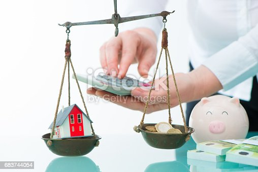 istock Savings or real estate investment concept 683744054