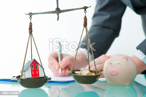 istock Savings or real estate investment concept 683744098