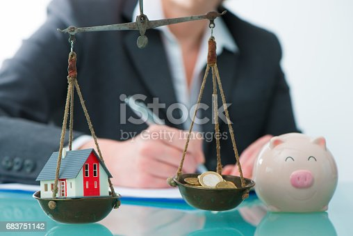 istock Savings or real estate investment concept 683751142