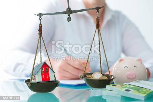 istock Savings or real estate investment concept 683751148