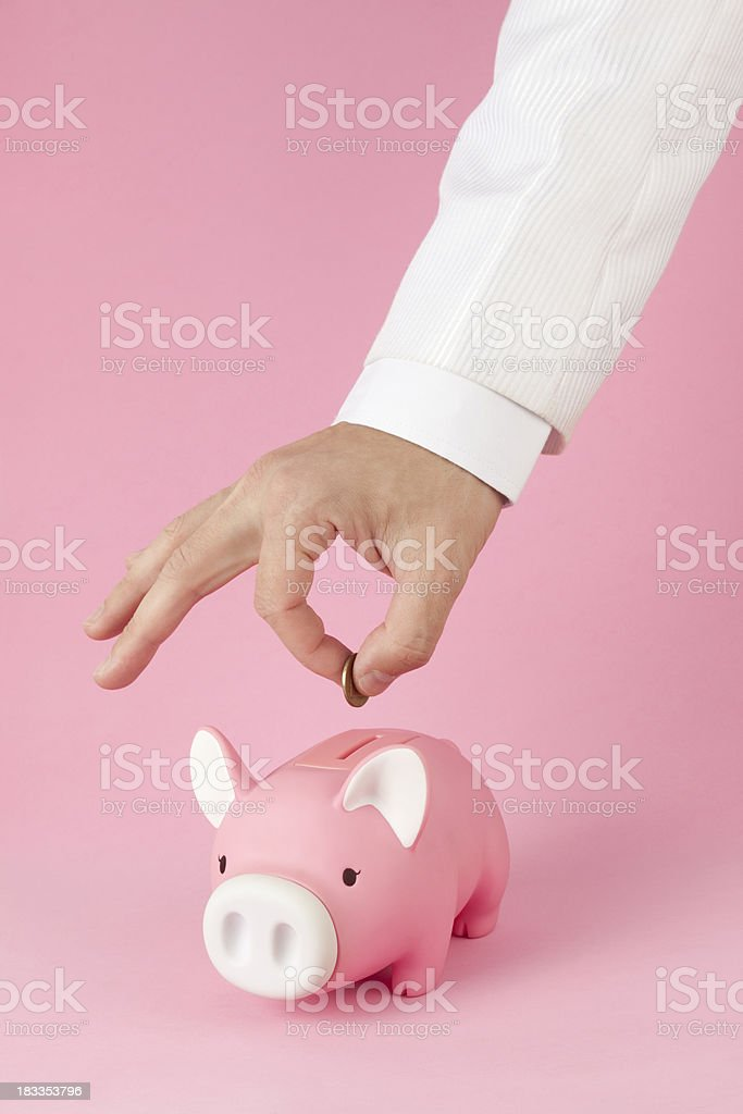 Savings. royalty-free stock photo