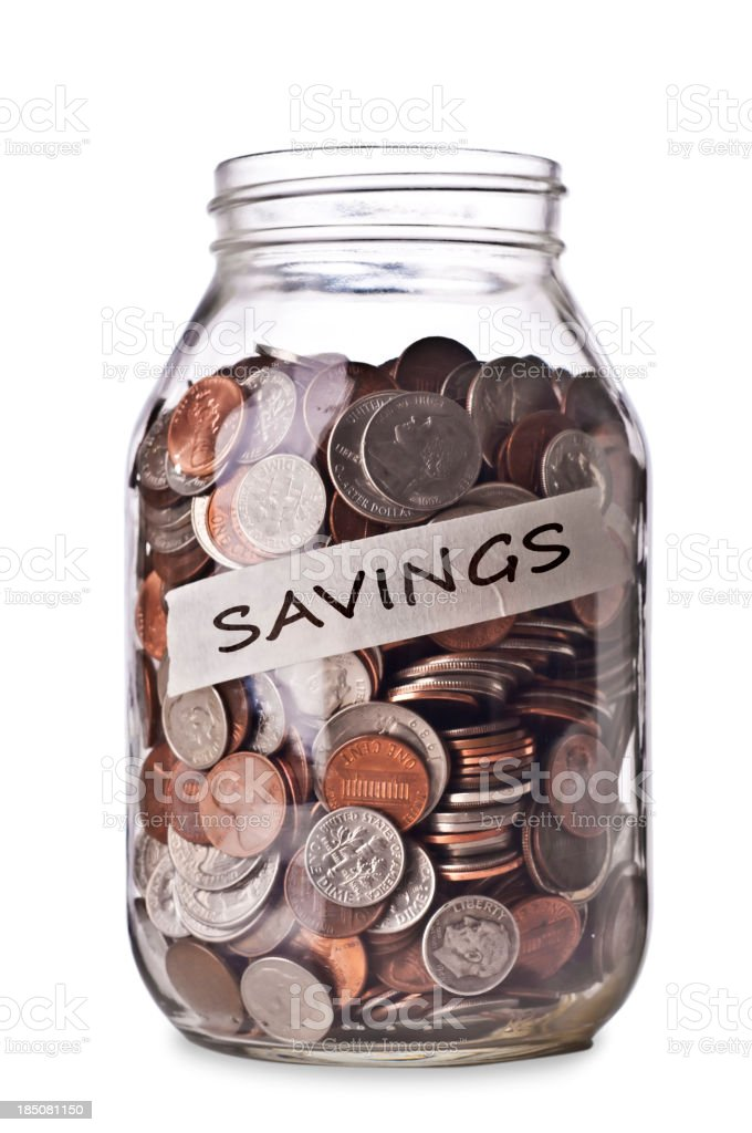 Savings royalty-free stock photo